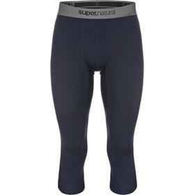 super.natural Base 3/4 Tights 175 Underwear Men blue